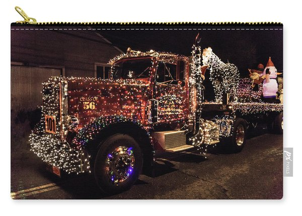 Christmas Truck Carry-all Pouch