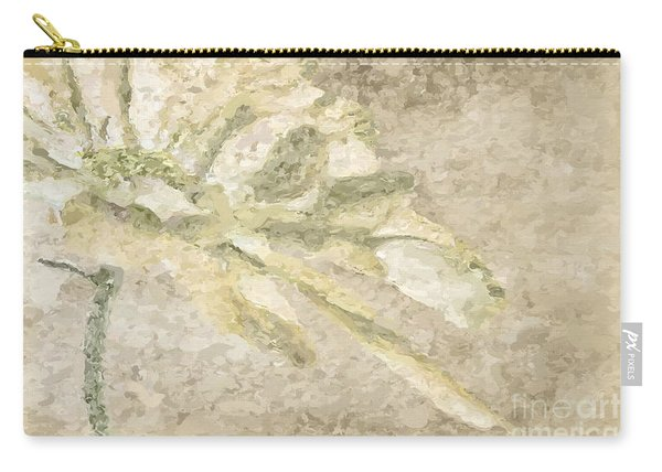 Chrysanthemum Abstract Carry-all Pouch