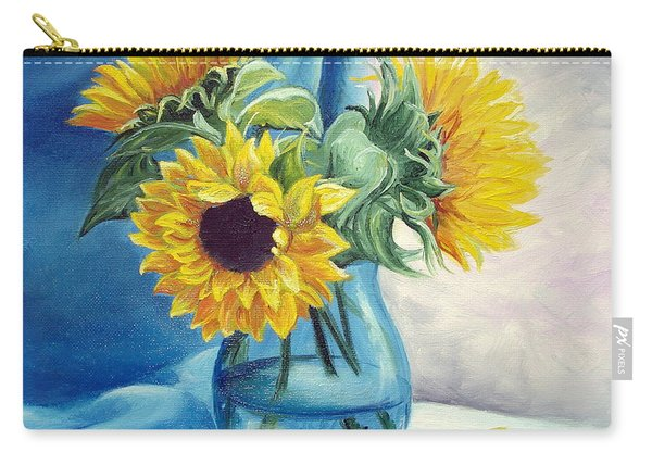 Chrysanthemums Carry-all Pouch