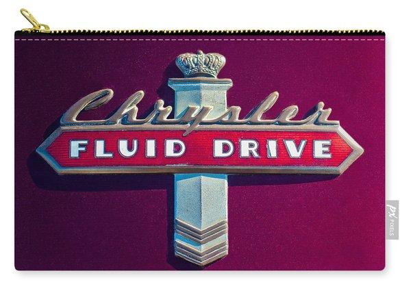 Chrysler Fluid Drive Emblem Carry-all Pouch