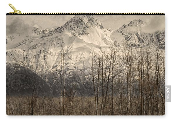 Chugach Mountains In Storm Carry-all Pouch
