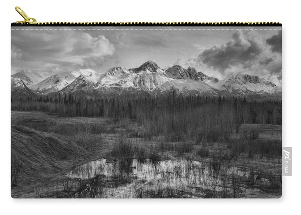 Chugach Mtn Range Carry-all Pouch