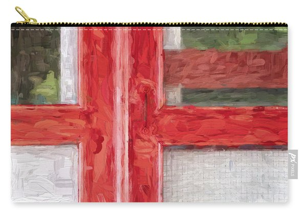 Church Camp House Detail Painterly Series 11 Carry-all Pouch