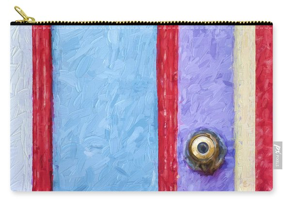 Church Camp House Detail Painterly Series 2 Carry-all Pouch