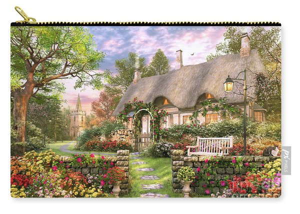 Church Lane Cottage Carry-all Pouch