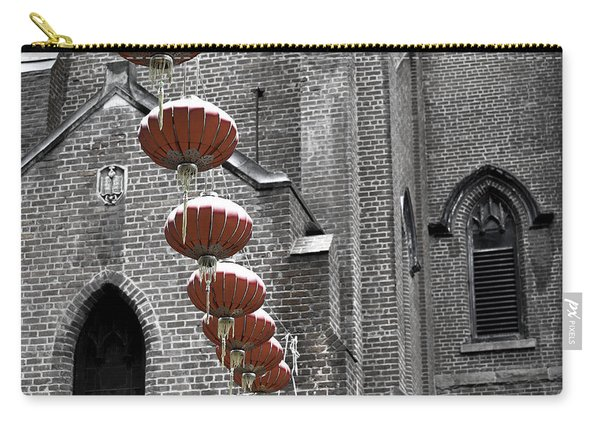 Church Lanterns Carry-all Pouch