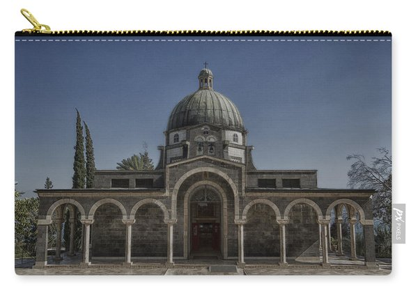 Church Of The Beatitudes Carry-all Pouch