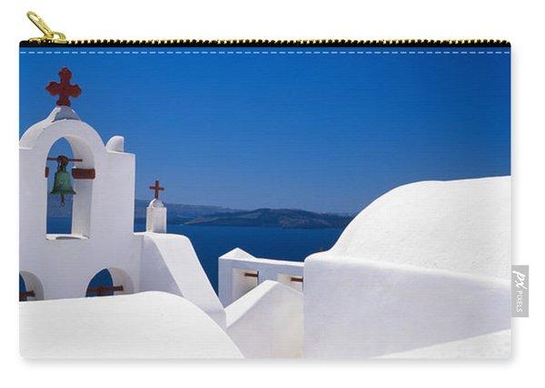 Church, Oia, Santorini, Cyclades Carry-all Pouch