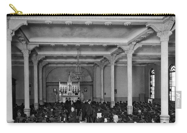 Church Service In Sing Sing Carry-all Pouch