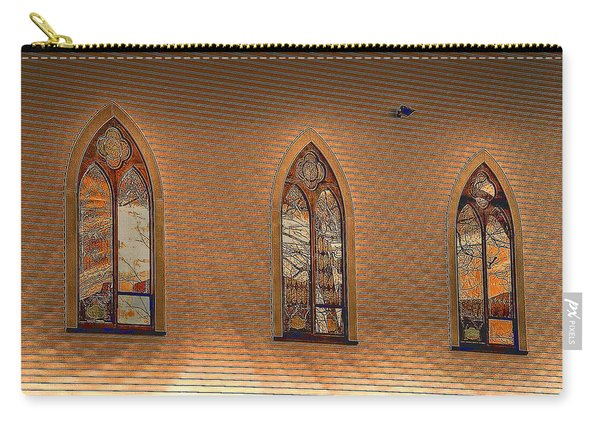 Church Windows Carry-all Pouch