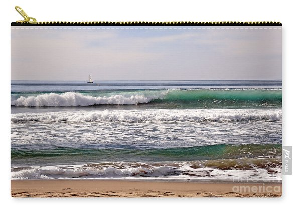 Churning Surf At Monterey Bay Carry-all Pouch