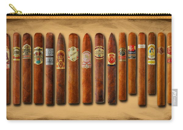 Cigar Sampler Painting Carry-all Pouch