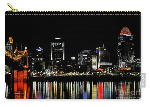 Cincinnati Skyline Dreams 3 Carry-all Pouch