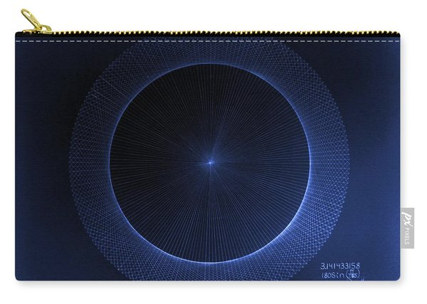 Circles Don't Exist Pi 180 Carry-all Pouch