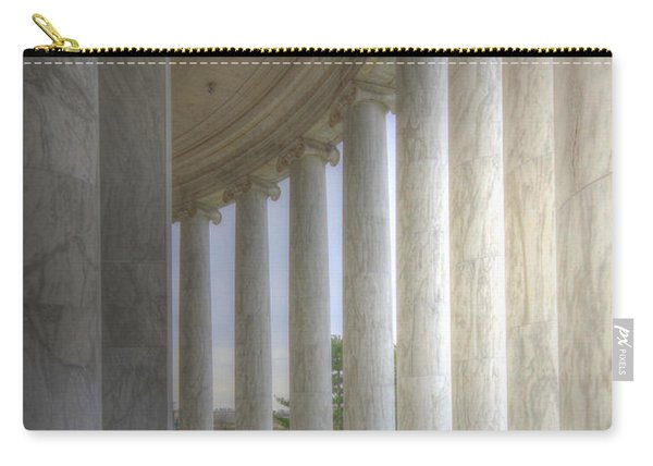 Circular Colonnade Of The Thomas Jefferson Memorial Carry-all Pouch