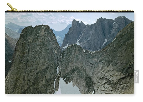 209615-cirque Of Towers, Wind Rivers, Wy Carry-all Pouch