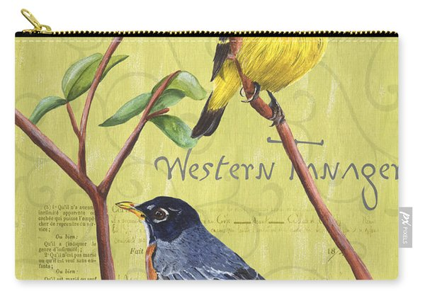 Citron Songbirds 2 Carry-all Pouch