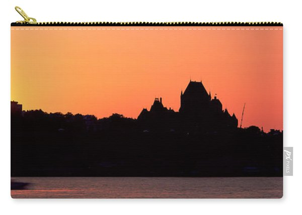 City At Sunset, Chateau Frontenac Carry-all Pouch