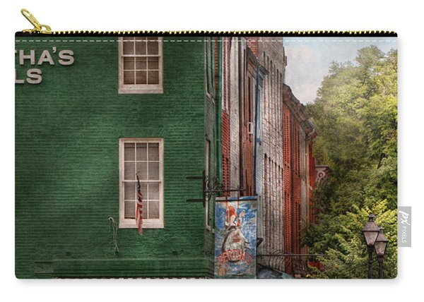 City - Baltimore - Fells Point Md - Bertha's And The Greene Turtle  Carry-all Pouch