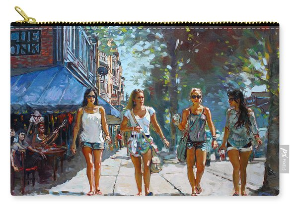 City Girls Carry-all Pouch