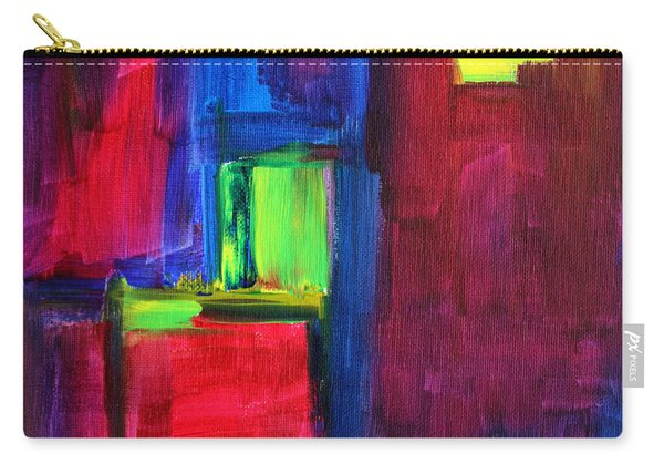 City Life Abstract Carry-all Pouch