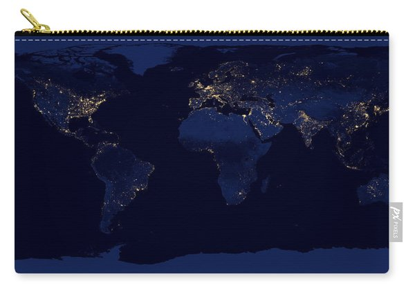 City Lights - Earth Carry-all Pouch