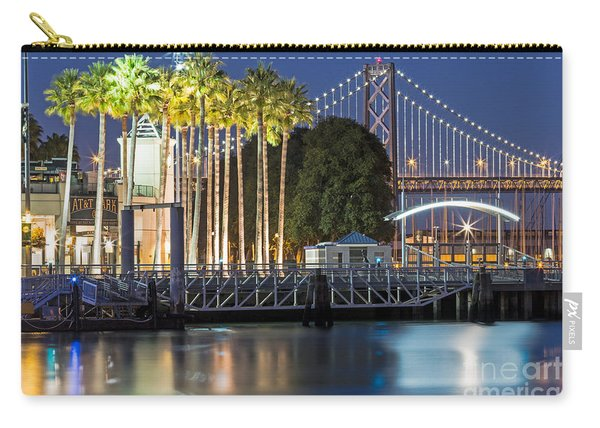 City Lights On Mission Bay Carry-all Pouch