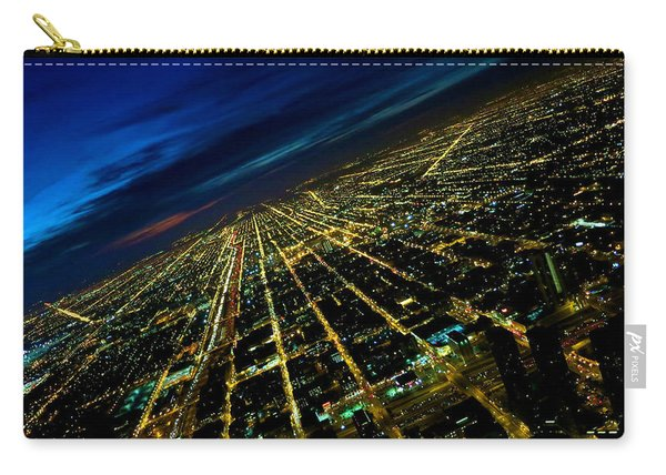 City Street Lights Above Carry-all Pouch