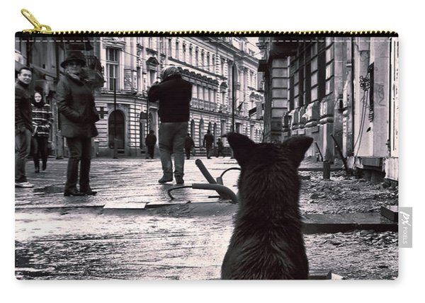City Streets And The Theory Of Waiting Carry-all Pouch