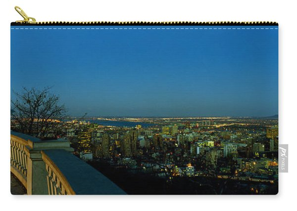City Viewed From An Observation Point Carry-all Pouch