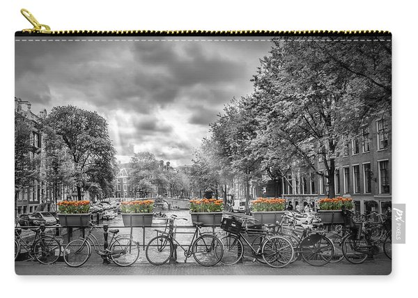 Cityscape Amsterdam Carry-all Pouch