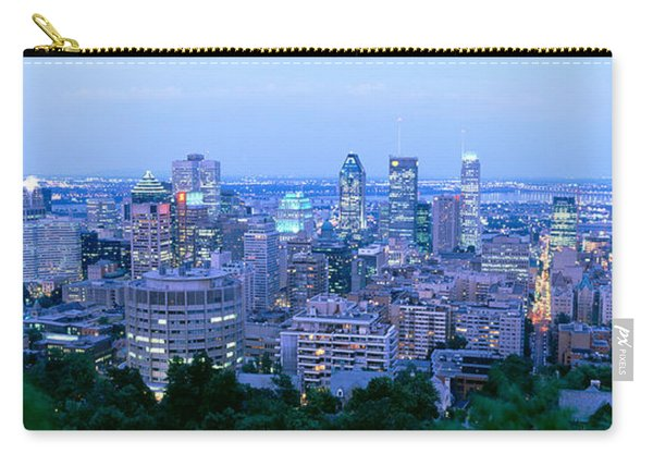 Cityscape At Dusk, Montreal, Quebec Carry-all Pouch