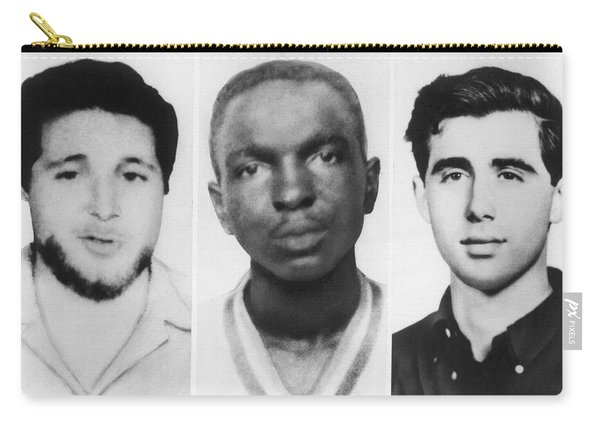 Civil Rights Workers Murdered Carry-all Pouch