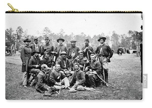 Civil War Officers, 1862 Carry-all Pouch