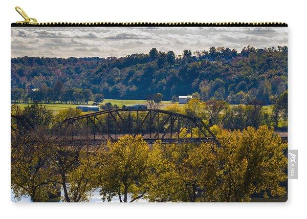 Clarksville Railroad Bridge Carry-all Pouch