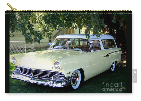 Classic 1956 Ford Ranch Wagon Carry-all Pouch