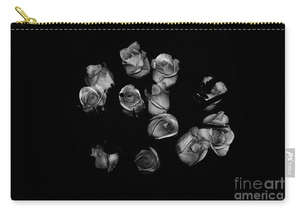 Classic Black Roses Carry-all Pouch