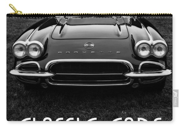Classic Cars Front Cover Carry-all Pouch