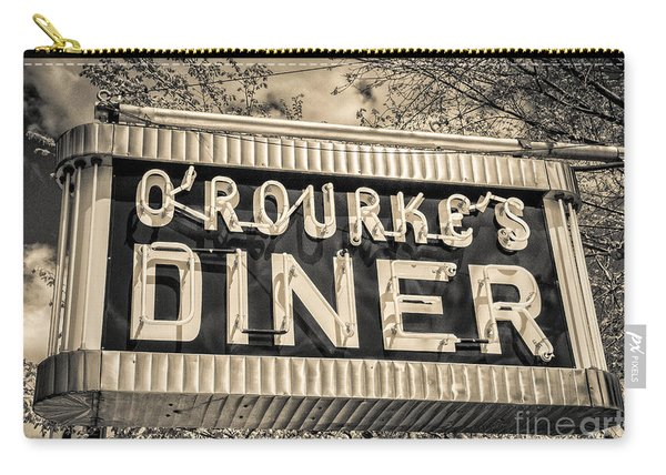 Classic Diner Neon Sign Middletown Connecticut Carry-all Pouch