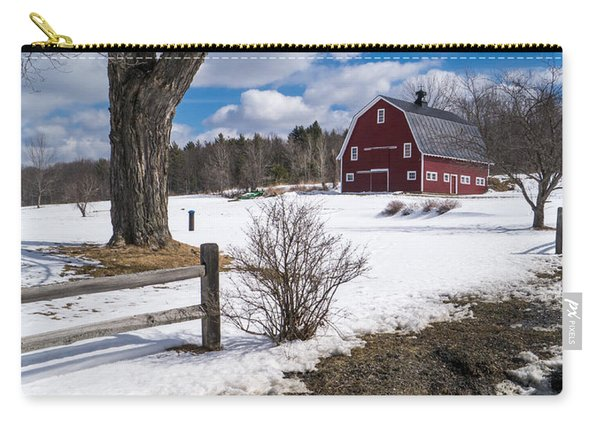 Classic New England Farm Scene Carry-all Pouch