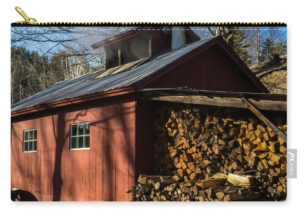 Classic Vermont Maple Sugar Shack Carry-all Pouch