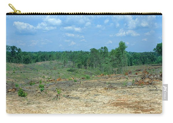 Clear Cutting In The Blue Ridge Carry-all Pouch