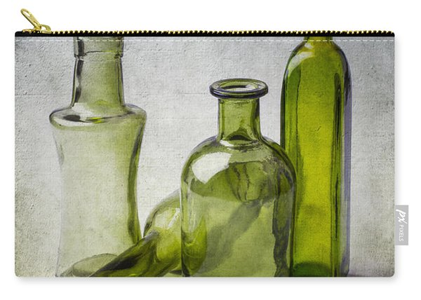 Clear Green Bottles Carry-all Pouch