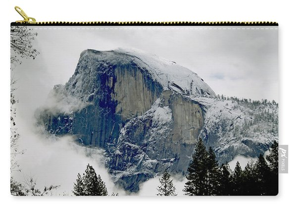 Clearing Storm Around Half Dome Carry-all Pouch
