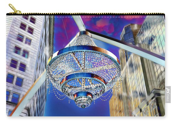 Cleveland Playhouse Square Outdoor Chandelier - 1 Carry-all Pouch