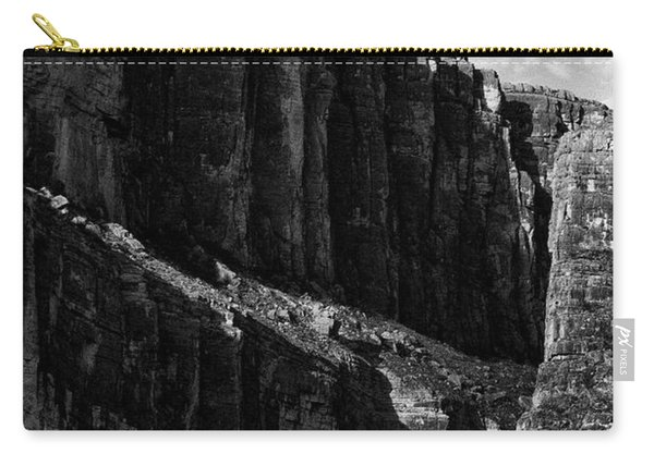 Cliffs In Contrast Carry-all Pouch