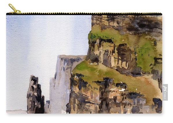 Clare   The Cliffs Of Moher   Carry-all Pouch