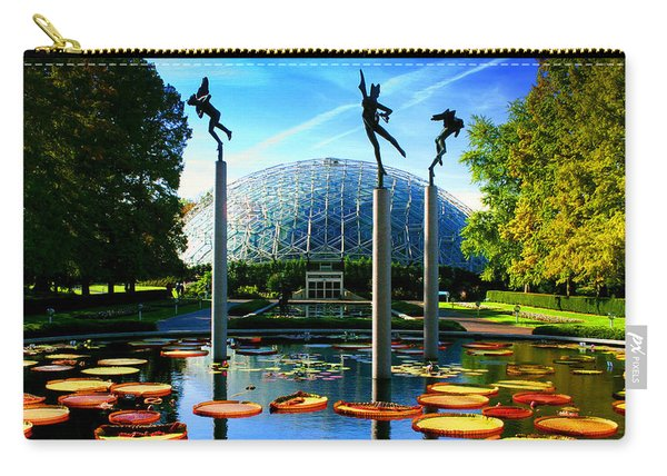 Climatron Geodesic Dome Landscape Carry-all Pouch