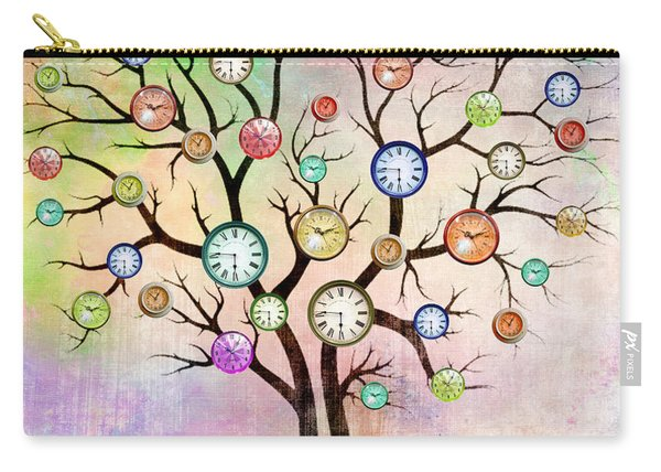Clock Tree  Carry-all Pouch