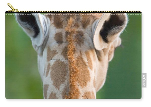 Close-up Of A Masai Giraffe, Lake Carry-all Pouch